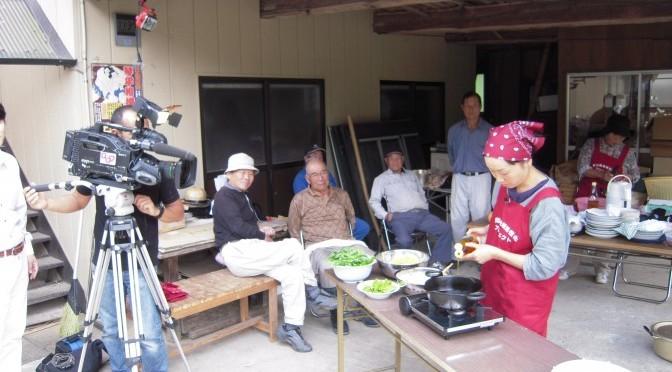 野出島地域をとりあげたテレビ番組が放映されます